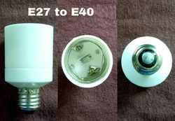 Adapter E27 To E40