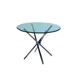 Techno Seating Systems Round Glass Table