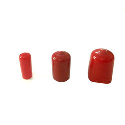 Red Dip Moulded Cap, for Automobile, Size: 10-20 Mm