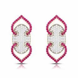 Real Diamonds Real Diamond Earring, Weight: 4.5 g