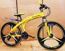 Edge Yellow Folding Cycle