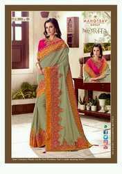 Sanjana Norita-Royal Anyssa Stylish Party Wear Fancy Saree (Single Available)