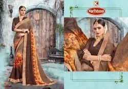 Printed Weightless Saree - Shakuntala-02