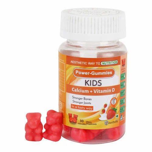 Power Gummies Kids Calcium Plus Vitamin D at Rs 249/piece ...