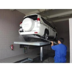 Washing Lift for Automobile Industry
