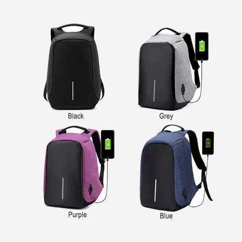 Rson Digital Multi Color Anti Theft Backpack
