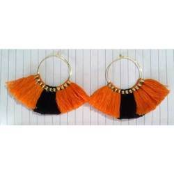 Thread Tassel Earring