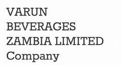 Varun Beverages (Zambia) Ltd