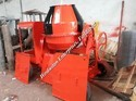 Concrete Mixer Machine with Hydraulic Jack Hopper
