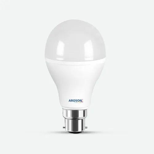 15 W Aroson 15 Watt LED Bulb, Input Voltage: 230 V