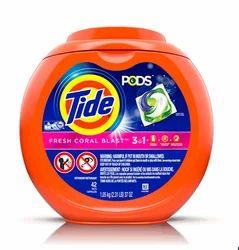 Tide PODS Laundry Detergent Fresh Coral Blast Scent Powder