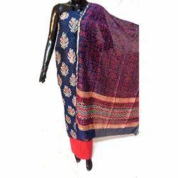 Unstitched Silk Suit