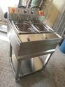 Stainless Steel Double Deep Fryer (Standing)