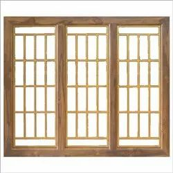 India Brown Wooden Window Frame