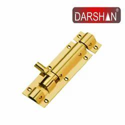 Darshan Brass Industries Brass Tower Bolt, Size: 4 Inch