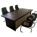 Rectangular Wooden Conference Table