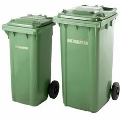 120 Liters 2 Wheeled Dustbin