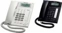 Black Wired Basic Telephones, Packaging Type: Box