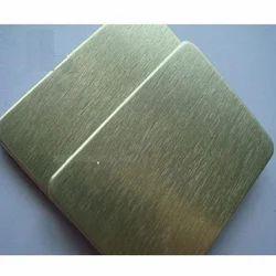 Brush Gold Mirror Faced Aluminum Composite Panel