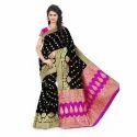 Banarasi Silk Formal Wear And Party Wear Designer Saree