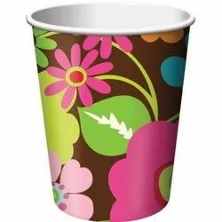 Printed Paper Cup, Packet Size: 100 Piece, Features: Eco Friendly