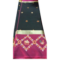 Fancy Mercerised Silk Saree, Length: 6 M