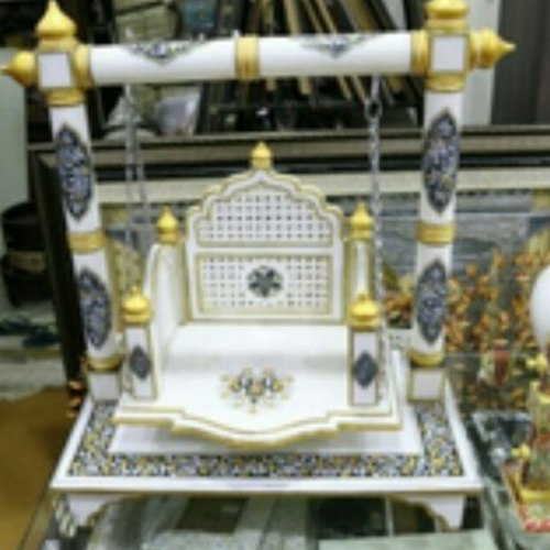 Marble Lord Krishna Swings