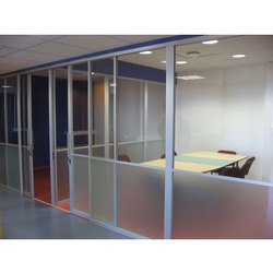 Aluminum Framed Glass Partition