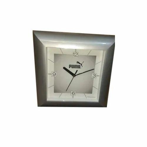 Puma White Modern Quartz Clock