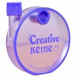 Mix Plastic Creative Kettle Round Bottle, Capacity: 350 Ml