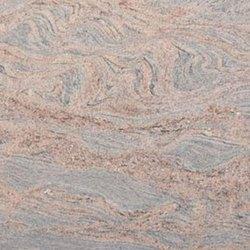 Grey 6.5 Colombo Juparana Granite Slab, Thickness: 15-20 Mm