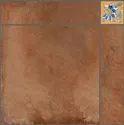Cotto Bronze Flooring Ceramic Tile, Size: 600 X 600 Mm