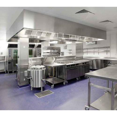 Stainless Steel Commercial Kitchen Manufacturer from Pune