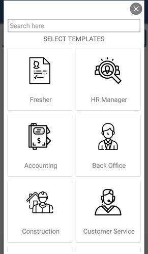 easy resume app in jaipur jagatpura by gayatri software services