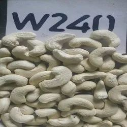 Natural Wholes Raw W240 Cashew Nut, Packaging Type: Tin, Packaging Size: 10 kg
