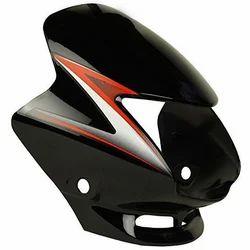 Honda Black Shine Visor, Packaging: Box