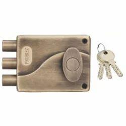Triple Bolt Dead Lock 1 Side Key 1 Side Knob