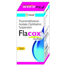 FLUOROMETHOLONE 0.1% EYE DROPS (FLACOX)