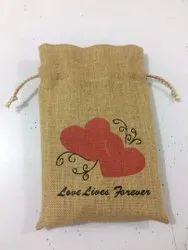Eco Friendly Jute Drawstring Bag