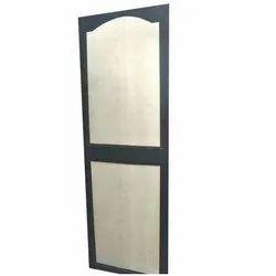 Casement Polished Solid PVC Panel Door, For Bathroom, Interior
