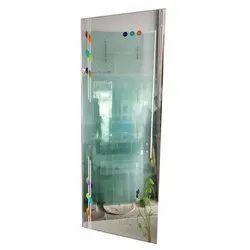 Printed Frameless Glass Door