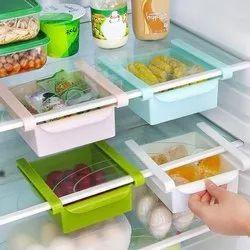 See Inside Multipurpose Plastic Refrigerator Storage Rack