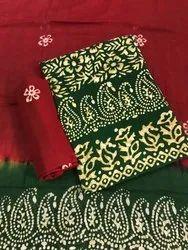 Cotton Batik Salwar Suit