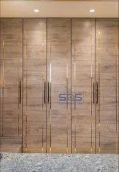 Golden Colour SS304 Cupboard Profiles