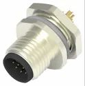 M12 12Pin Male Panel Mount Connector