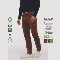 Eco Cotton Mens Corduroy Trousers