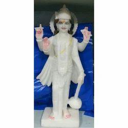 Lord Vishnu Marble Moorti
