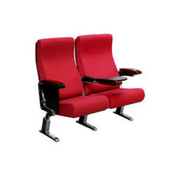 Red and Black Auditorium Chair