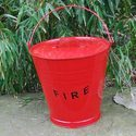 Fire Bucket With Stand