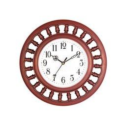 Analog Hips Plastic Round Designer Clock, Size: 300 x 300 Mm, Model Name/Number: 1113